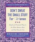 Kristine कार्लसन द्वारा महिलाओं के लिए छोटी सामग्री को पसीना मत